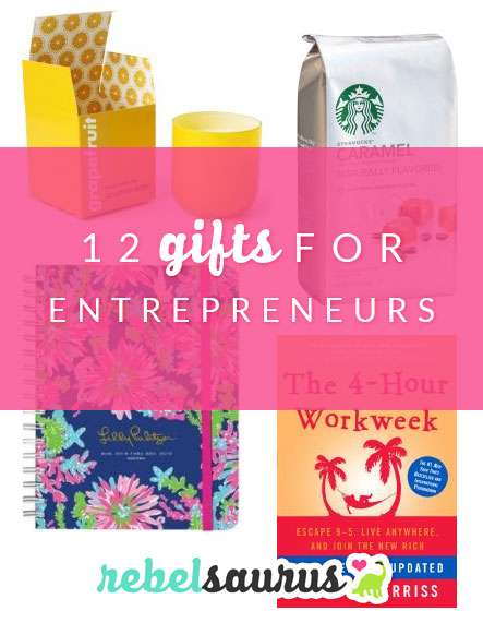 Maybe you have an entrepreneur in your life who you'd like to buy a gift for, whether to congratulate on a recent business win or thank them for working with you, or maybe you are an entrepreneur and you're looking for a way to celebrate an event in the life of your business. Either way, here are some great gifts for entrepreneurs.