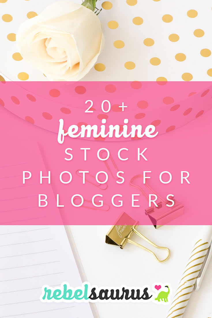 Feminine Stock Photos for Bloggers