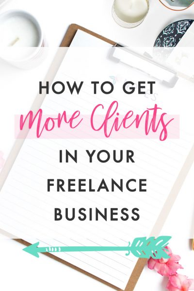 If you've started an online freelance business and you're wondering how to find clients as a freelancer and market your freelance business, then keep reading. In this blog post I'll cover how to get more clients in your freelance business (or even get your first freelance client!) and how to attract more clients online.