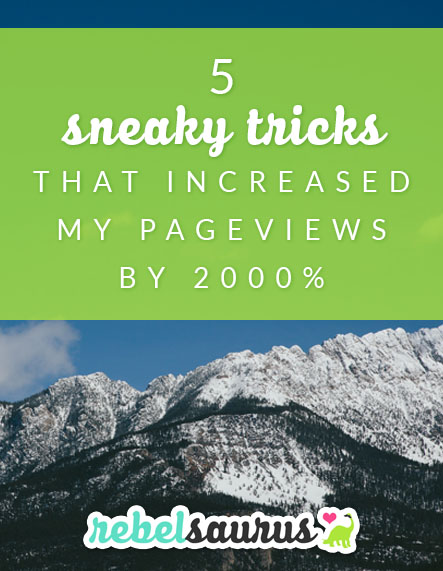 In some businesses, page views are just a vanity metric, but in others, such as blogs that depend on advertising, page views are your lifeblood. So if you'd like to increase either the number of eyeballs on your content or how many posts each visitor is reading (thus generating more page views), read on to learn my 5 sneaky tricks to increase your page views overnight with just a few quick tweaks to your website.