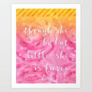 Girl boss print