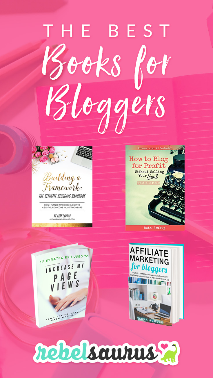 As a new or seasoned blogger, it's important to keep learning and continue your business and blogging education. Ebooks and courses are one easy way to start or continue learning about blogging so you can up your biz game and increase your page views. :) Here are the best books for bloggers that I've personally read and recommend.