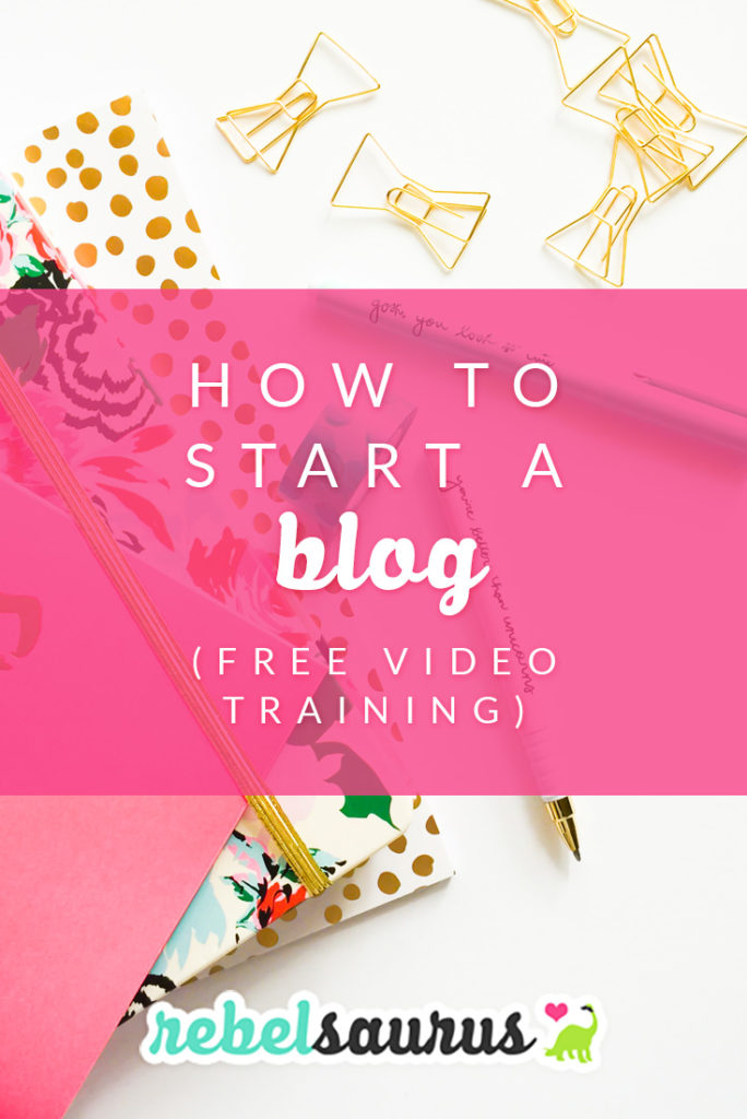 Learn how to start a self-hosted WordPress blog with our free video tech training. It's quick (less than 15 minutes) and step-by-step and covers signing up for a web host and domain name and how to install WordPress so you can start a blog.