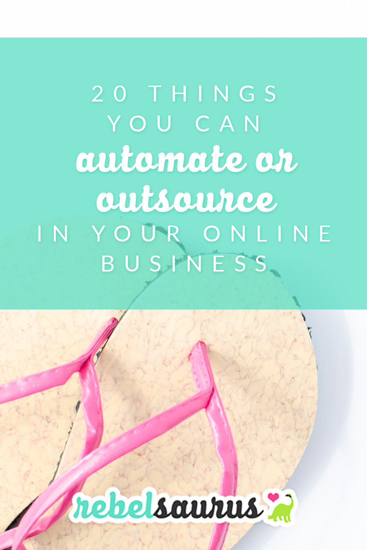 With so many different tools out there for online business, it's really possible to automate or outsource just about any part of your online business you'd like. 😃 I use a number of different tools and resources to automate many parts of my businesses and am able to run three different blogs at the same time without working a ridiculous number of hours. You can also hire a virtual assistant to do certain tasks for you too.