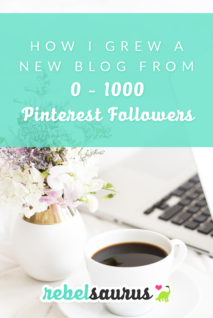 With so many people on social media, it's easier than ever to grow your following quickly, and Pinterest is one platform that's great for bloggers and online entrepreneurs. Here's how I grew a new blog from 0 to 1,000 Pinterest followers in about 2 months.