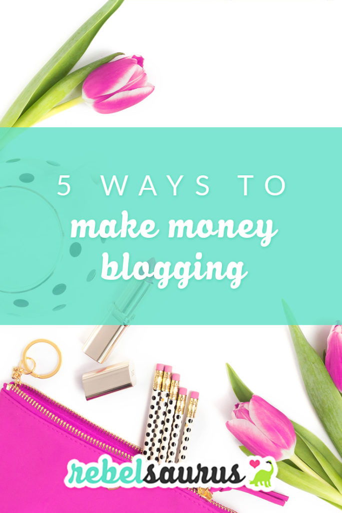 There are many different ways to make money blogging out there, and today I'm going to go over what the main ones are so you can make a decision about how you'd like to go about monetizing your new blog or business. Some ways to monetize your blog are passive income (meaning once you create it, it continues to make money without additional work), and some are active income that require ongoing time and effort.