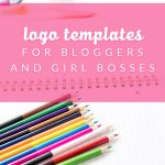 Logo Templates for Bloggers and Girl Bosses