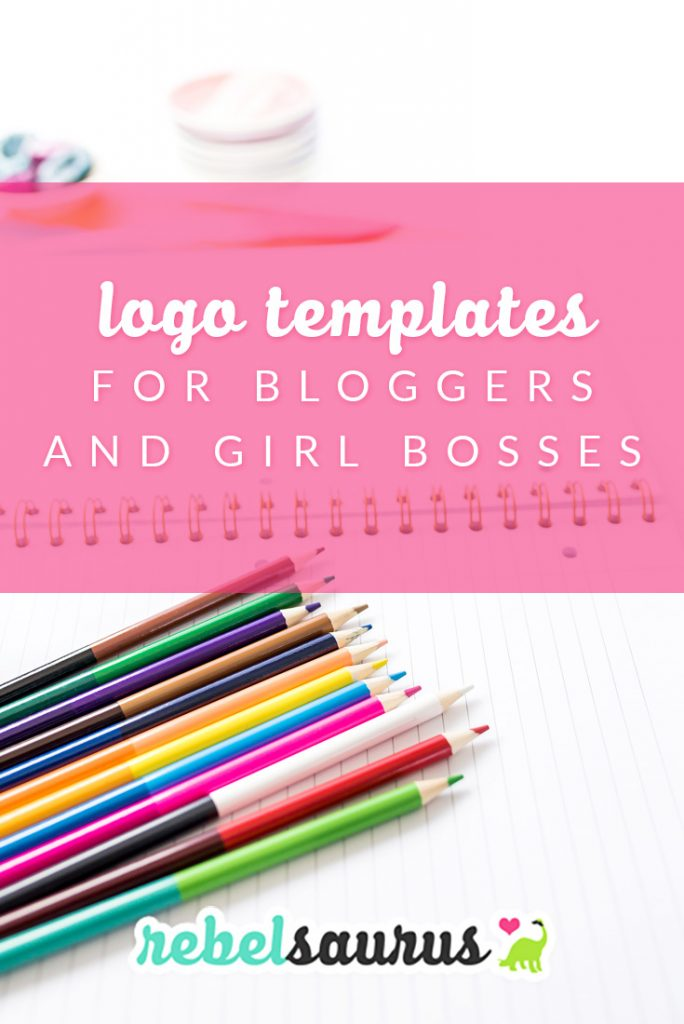 As a blogger, it's important to have your own logo and branding to help your blog stand out from the sea of other websites out there. These logo templates for bloggers and girl bosses are feminine and elegant premade logos and logo templates to help shape the branding for your blog or online business.