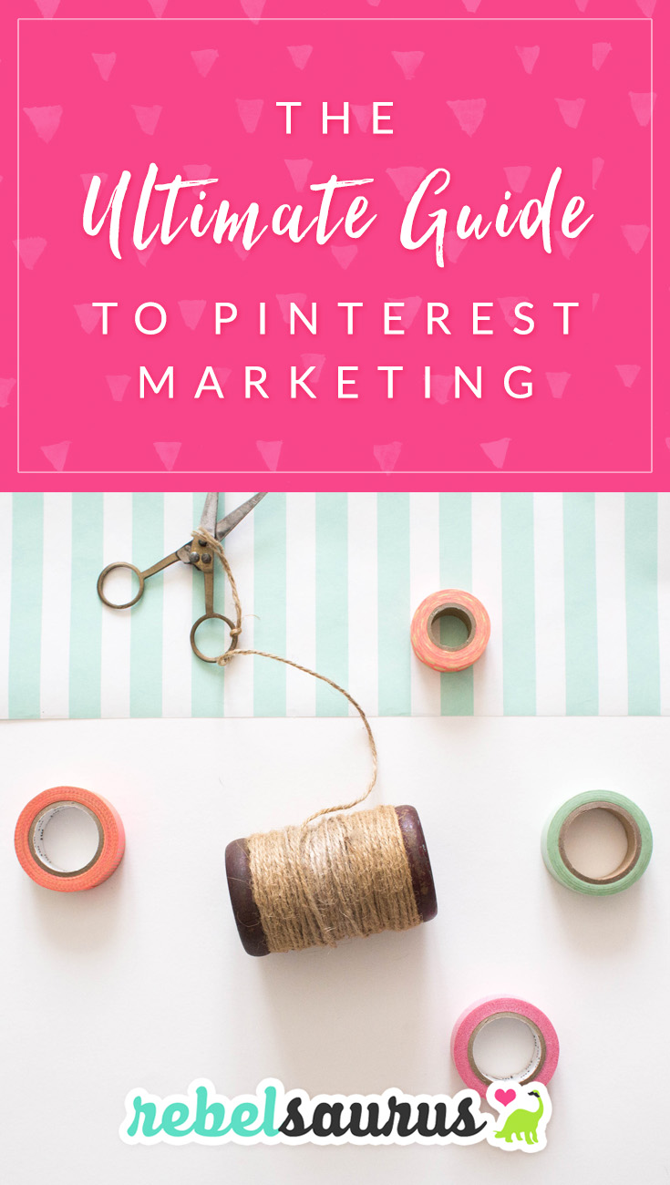 Do you want to learn how to grow your online business or blog with the power of Pinterest?  There are millions of users on Pinterest and lots of ways to market your business with Pinterest.  Here is our ultimate guide to Pinterest marketing.