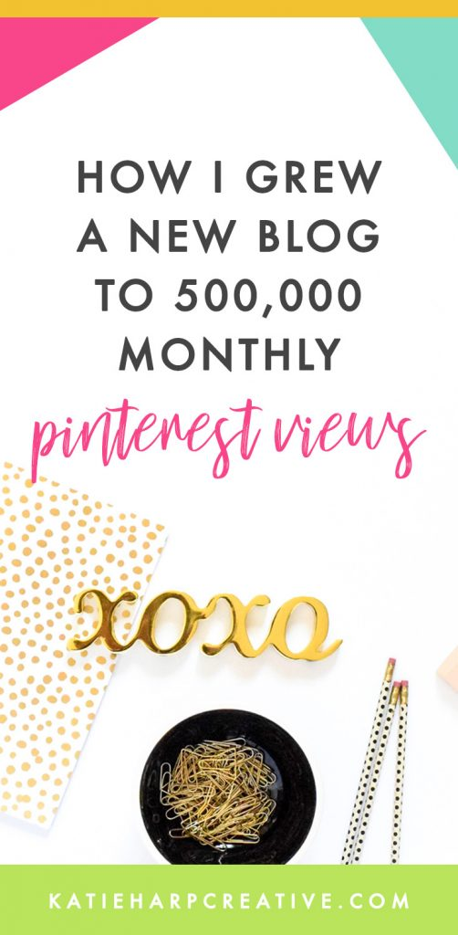 A couple years ago I checked the stats for one of my lifestyle blogs and was shocked to see that we were over 500,000 monthly Pinterest viewers, and I'd only been working on that blog for a couple months. Here's how to grow a blog's Pinterest reach in a short amount of time.