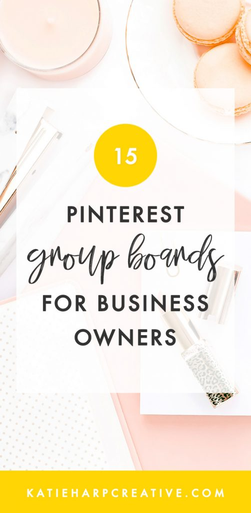 Pinterest group boards are a really popular and effective way to grow your blog right now. You can find Pinterest group boards by looking at another entrepreneur's Pinterest boards, on sites like Pin Groupie, or in this post I'll list several of the awesome Pinterest group boards specifically for the blogging, business, and entrepreneurship niche.