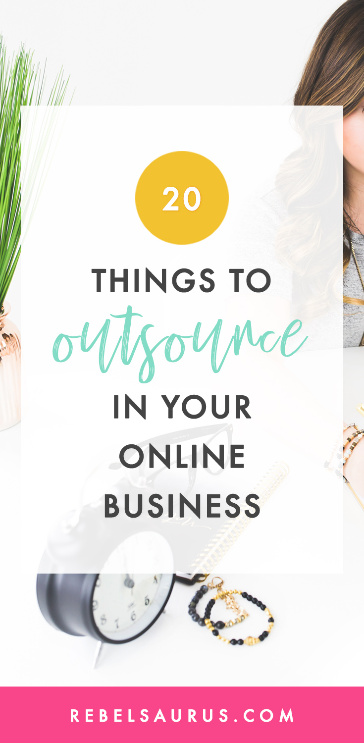 With so many different tools out there for online business, it's really possible to automate or outsource just about any part of your online business you'd like. 😃 I use a number of different tools and resources to automate many parts of my businesses and am able to run three different blogs at the same time without working a ridiculous number of hours. You can also hire a virtual assistant to do certain tasks for you too.Here are 20 things you can automate or outsource in your online business.