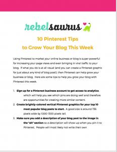 free-pinterest-tips
