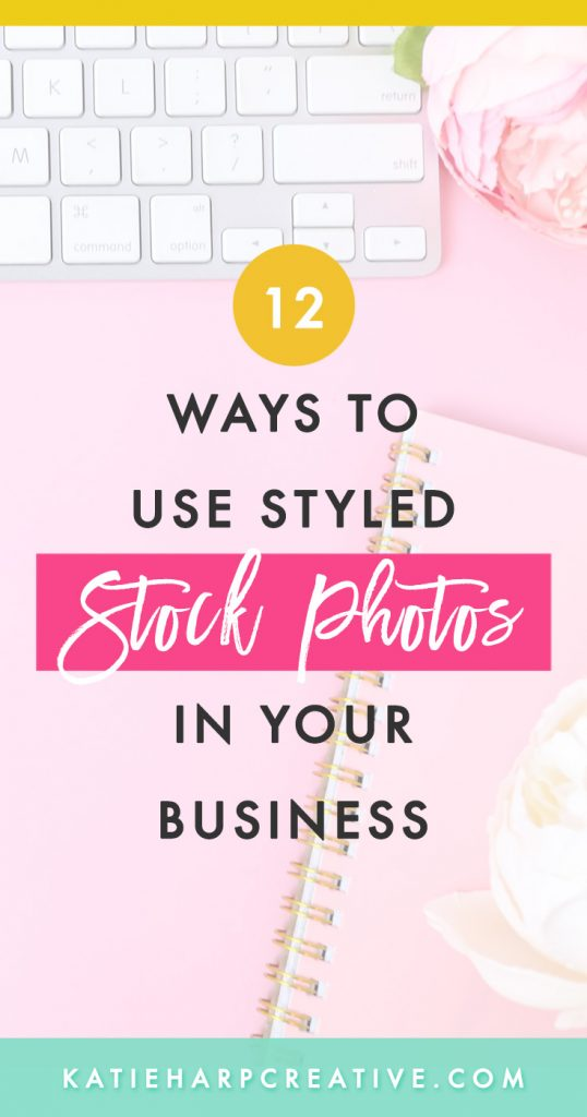 Styled stock photos are a great way to brand and style your business without having to take a bunch of photos yourself. They're like regular stock photos but less corporate and more feminine, bright, and fun. :) Here are 12+ ways to use styled stock photos in your online business.