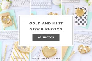preview-gold-and-mint-stock-photos