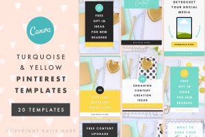 pinterest-templates-turquoise-yellow1
