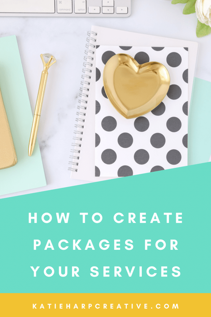 When you're running an online freelance business, I always recommend creating packages for your services based on what you're creating, rather than charging hourly. Here's how to create packages for your freelance services.
