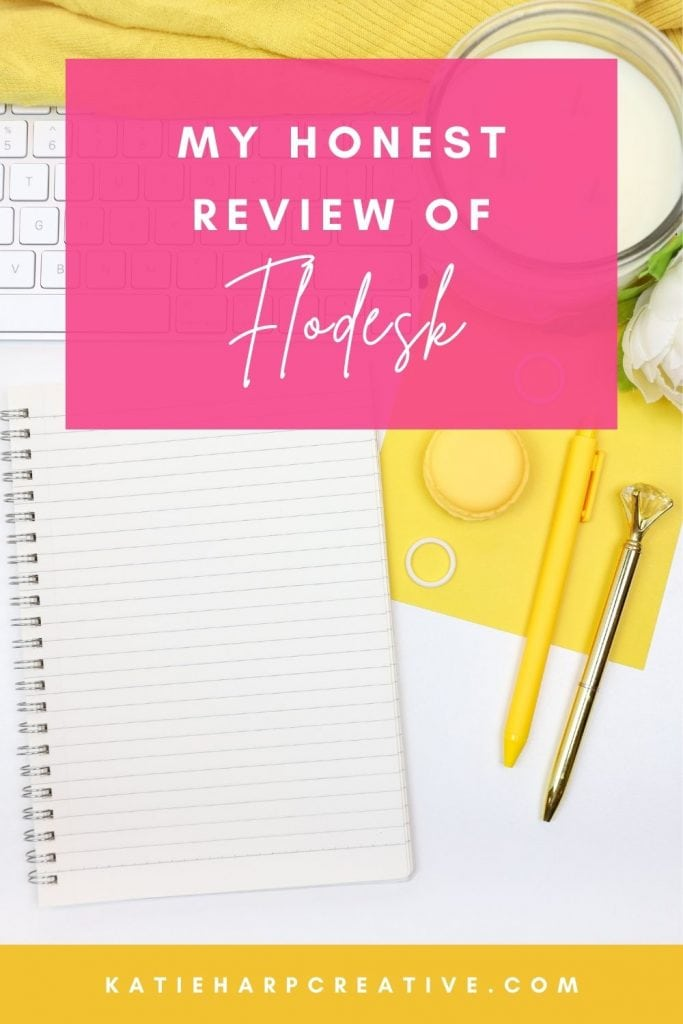 As an online entrepreneur, I have used a number of different email marketing softwares over the years and have experienced many firsthand. Some were better than others, and in this Flodesk review I'll tell you why I currently use and love Flodesk for my own email marketing.